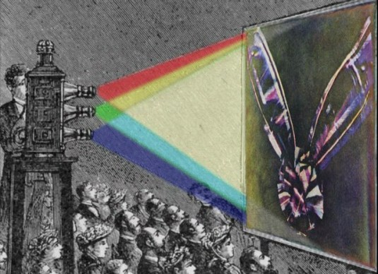 primera imagen a color por maxwell