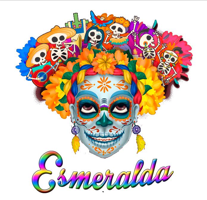 calaverita esmeralda