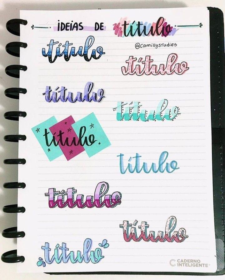 cursiva y color