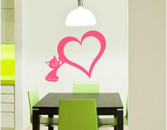 pared de corazones 91