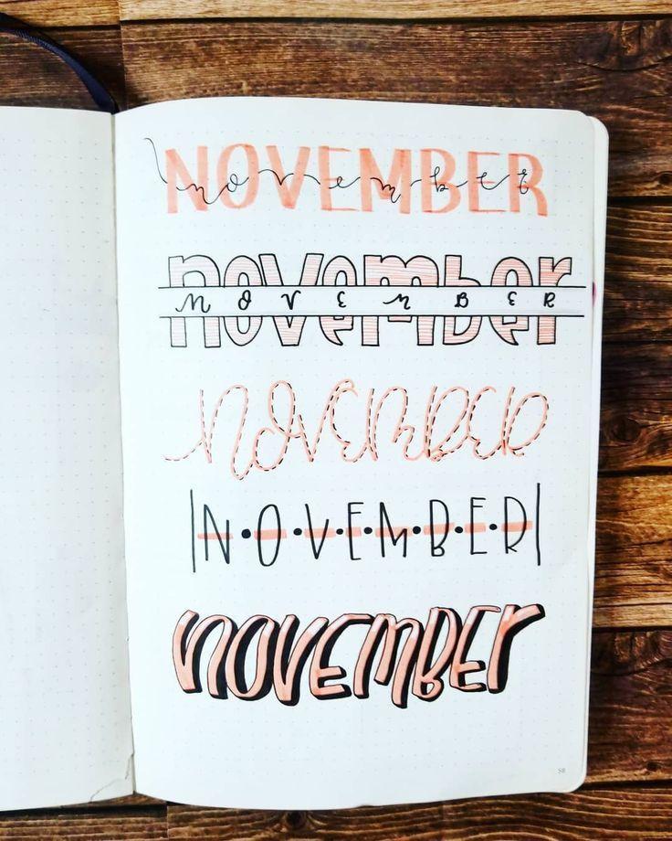 titulos de noviembre
