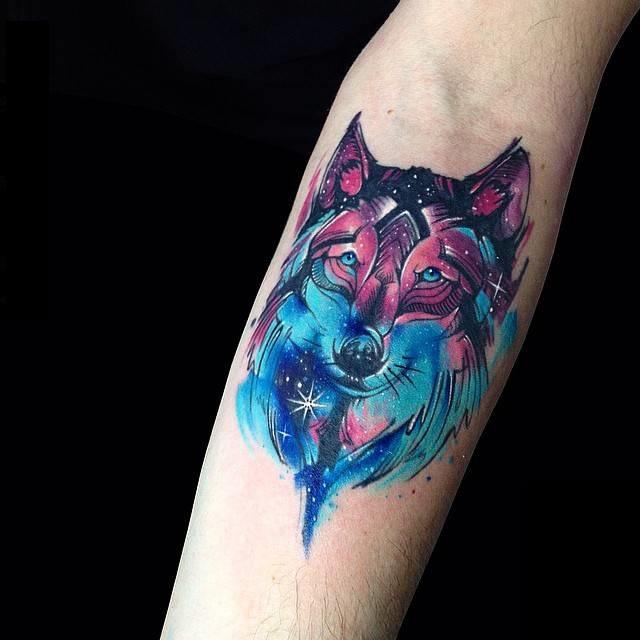 Tatuajes coloridos 42