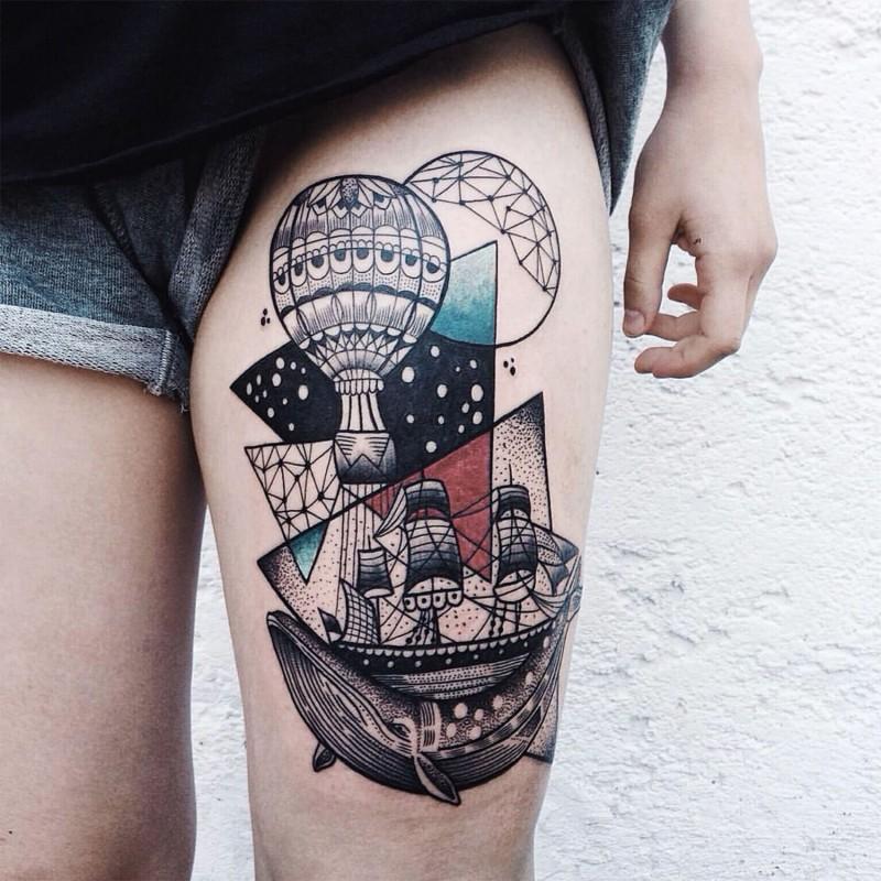 Tatuajes de colores 1