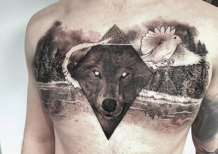 Tatuajes mixtos 15