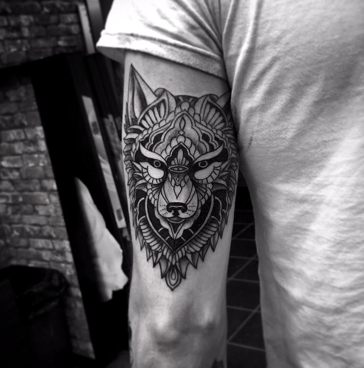 Wolf tattoo 1 1
