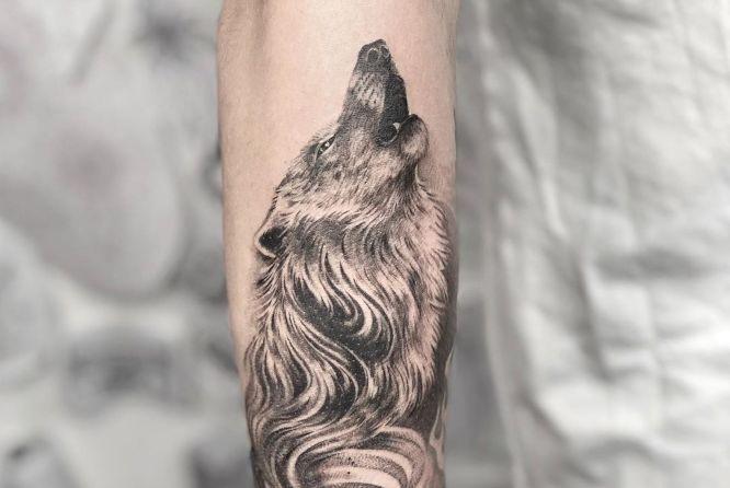 Wolf tattoo 12 1