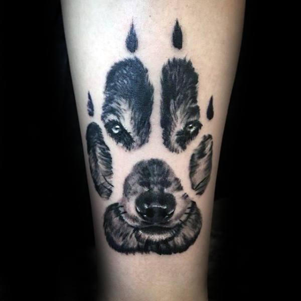 Wolf tattoo 22 1