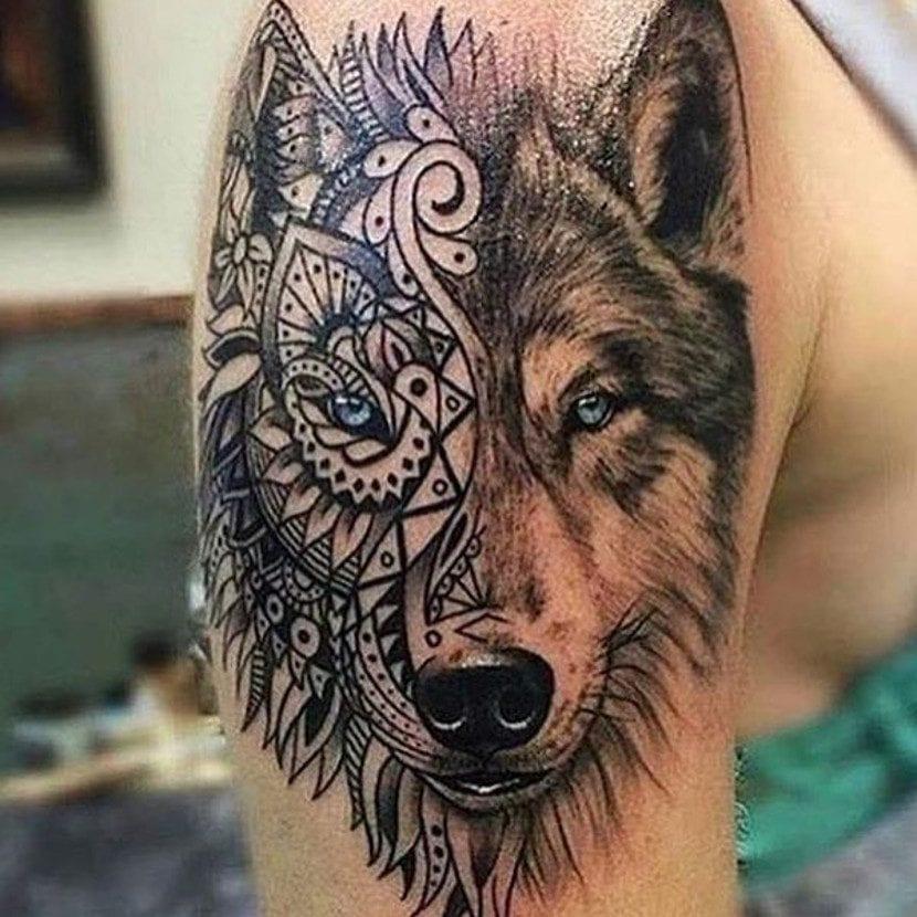 Wolf tattoo 23 1
