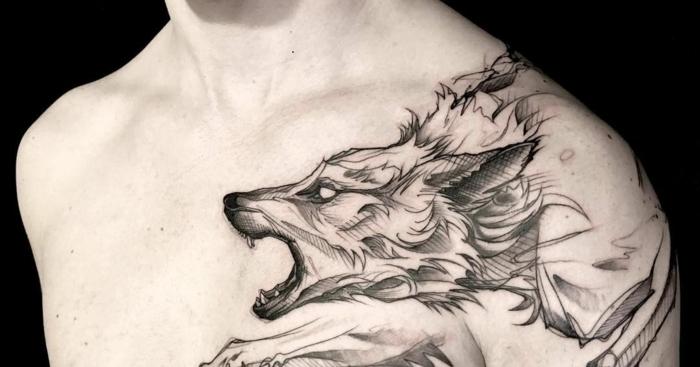 Wolf tattoo 5 1
