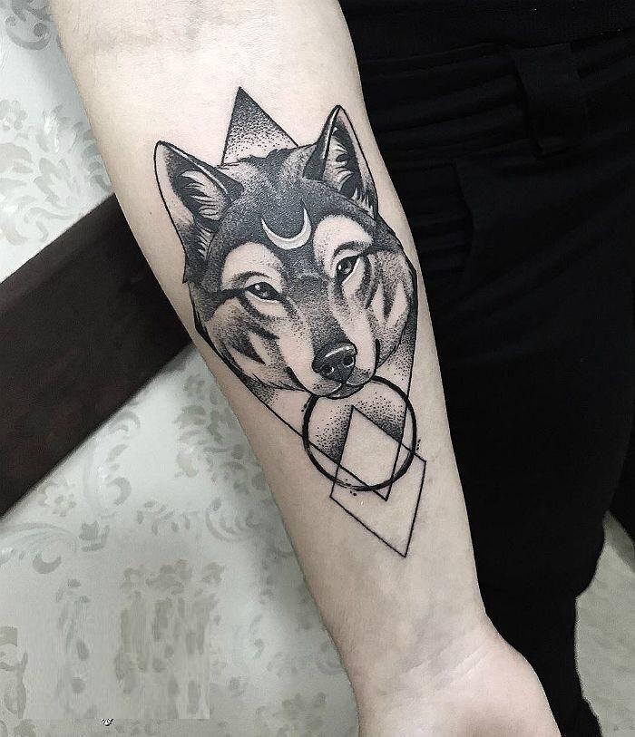 Wolf tattoo 7 1