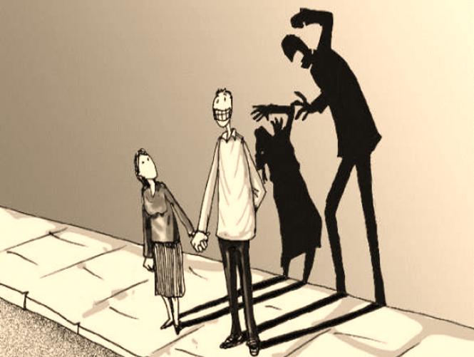 dibujos de discriminación