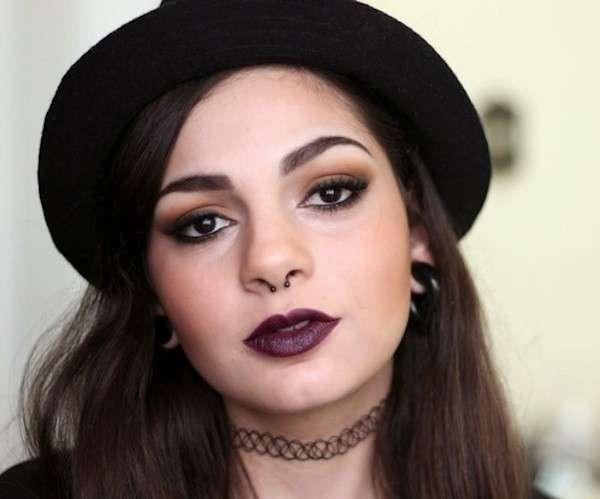 maquillaje indie grunge 4