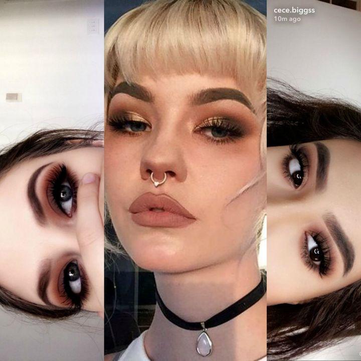 maquillaje indie grunge 5