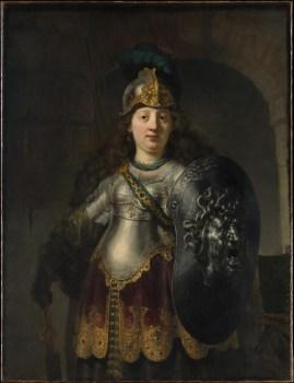 Bellona de Rembrandt, me lembrando a cada dia de que minha beleza é barroca.