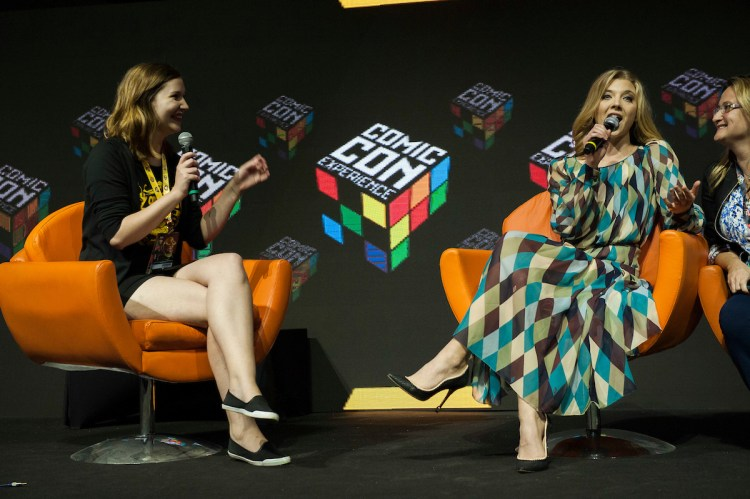 Painel especial Game of Thrones com a atriz Natalie Dormer. Fotos: Daniel Deák
