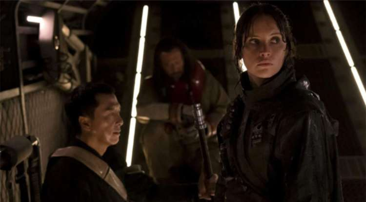 Jyn and Chirrut - Rogue One