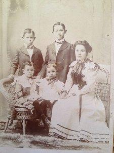 Jesusita and 4 boys