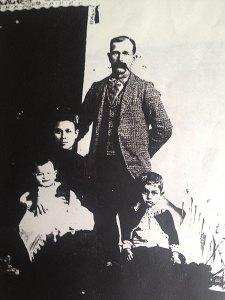 George M, Jesusita, Charles A and Charles R - 1893