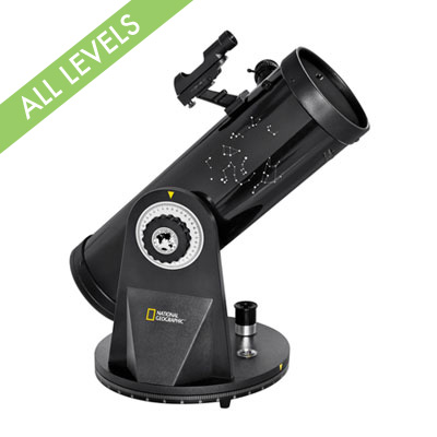 National Geographic 76-350 Dobsonian Telescope