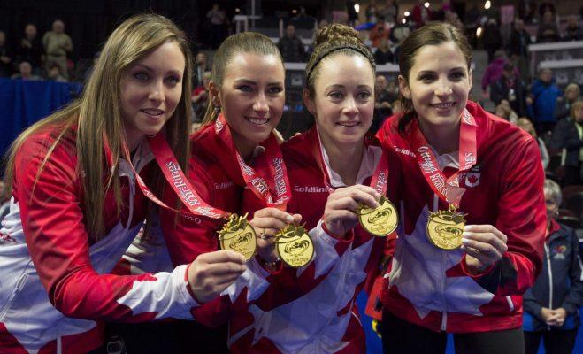 Team Holman Medals