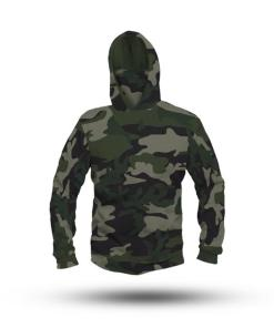 Camouflage Performance HooDoo Camo Green