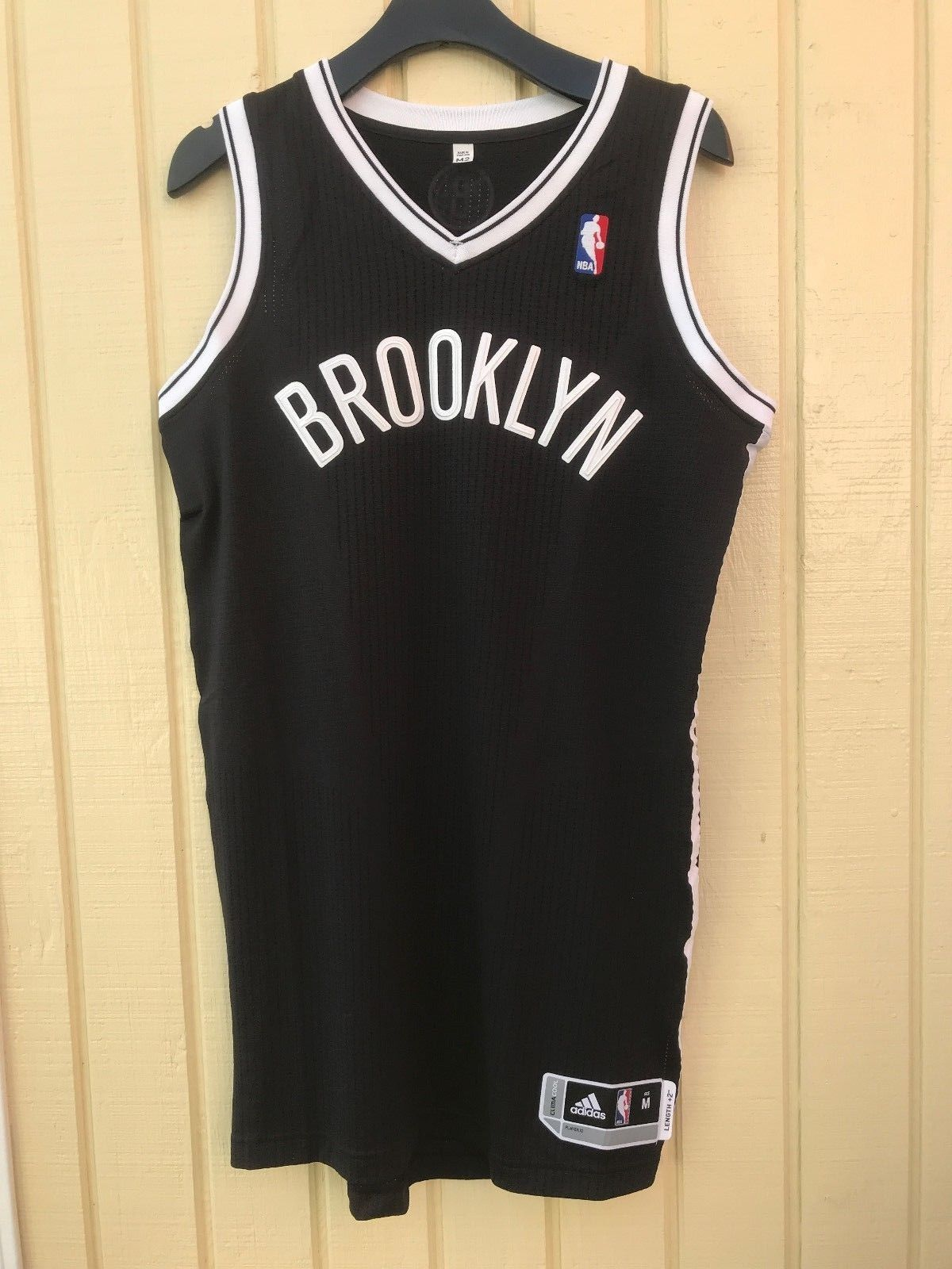 990131b3d86 Brooklyn Nets adidas Rev30 Blank Road Black NBA Basketball Jersey ...