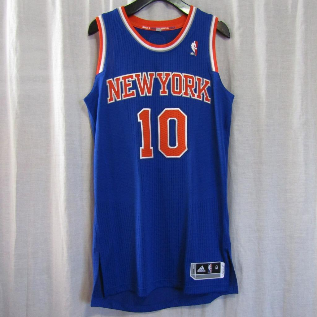 hot sale online bcc86 0da6f New York Knicks NYK #10 WALT CLYDE FRAZIER Custom NBA adidas rev30 On Court  Road Jersey