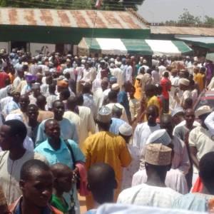 PDP Storm Dutse Jigawa State Capital Ahead of LG Elections