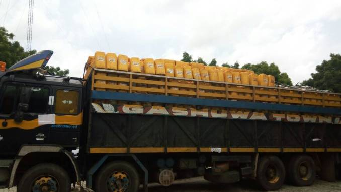 Custom Arrest Trailer of Groundnuts at Gamawa / Gololo Road