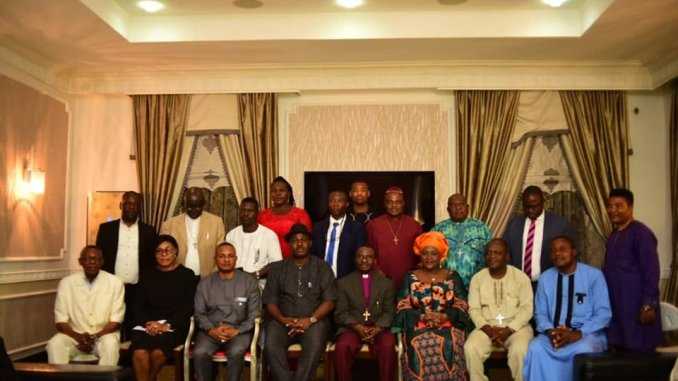 Group photograph of the CAN Delegation with the Deputy Governor
