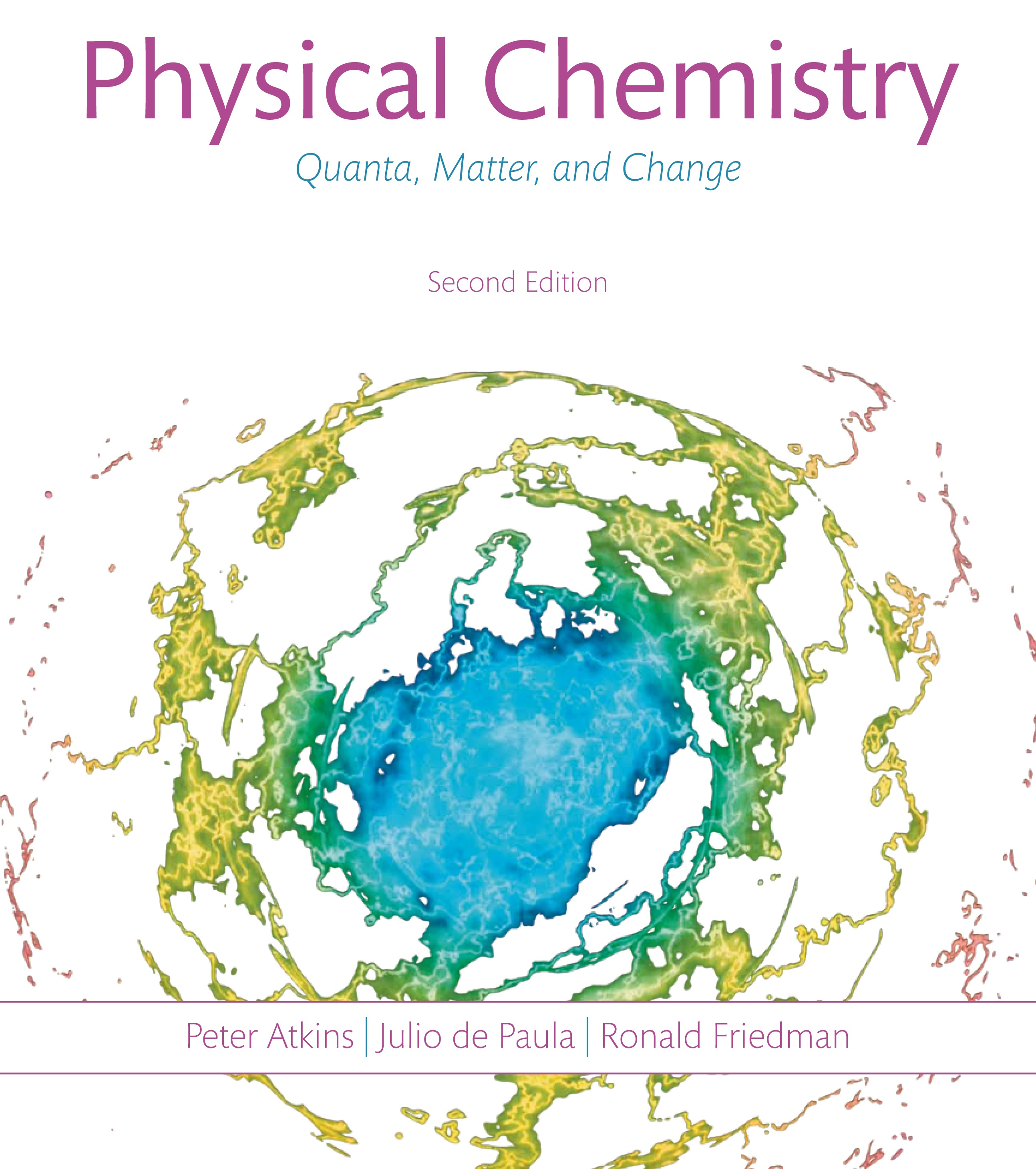 Physical Chemistry Quanta Matter And Change