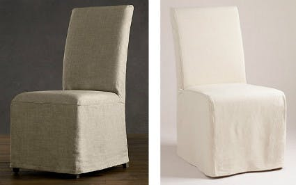 luxury linen seating from restoration