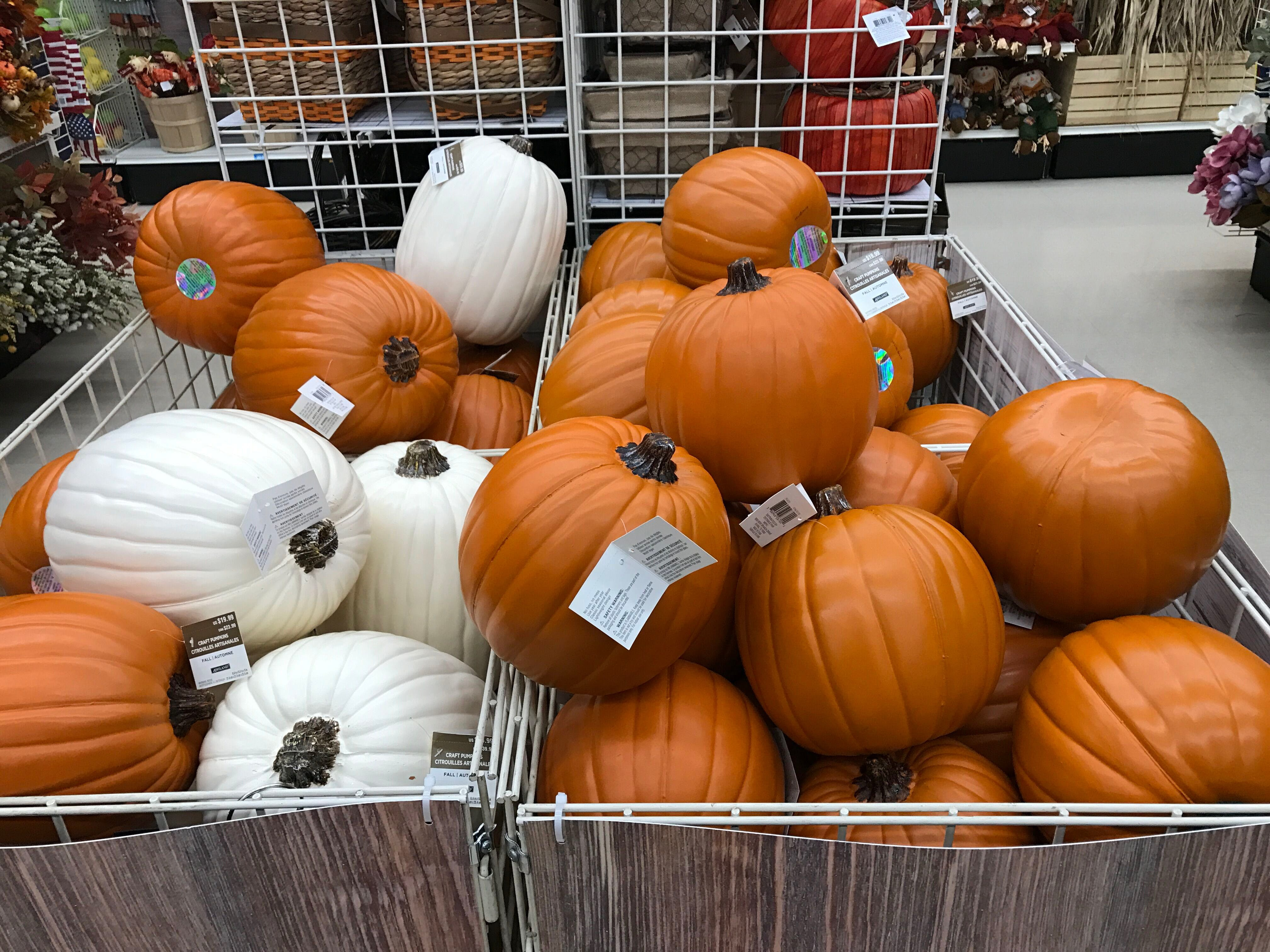 Craft Pumpkins As Low As 4 At Michaels The Krazy Coupon Lady