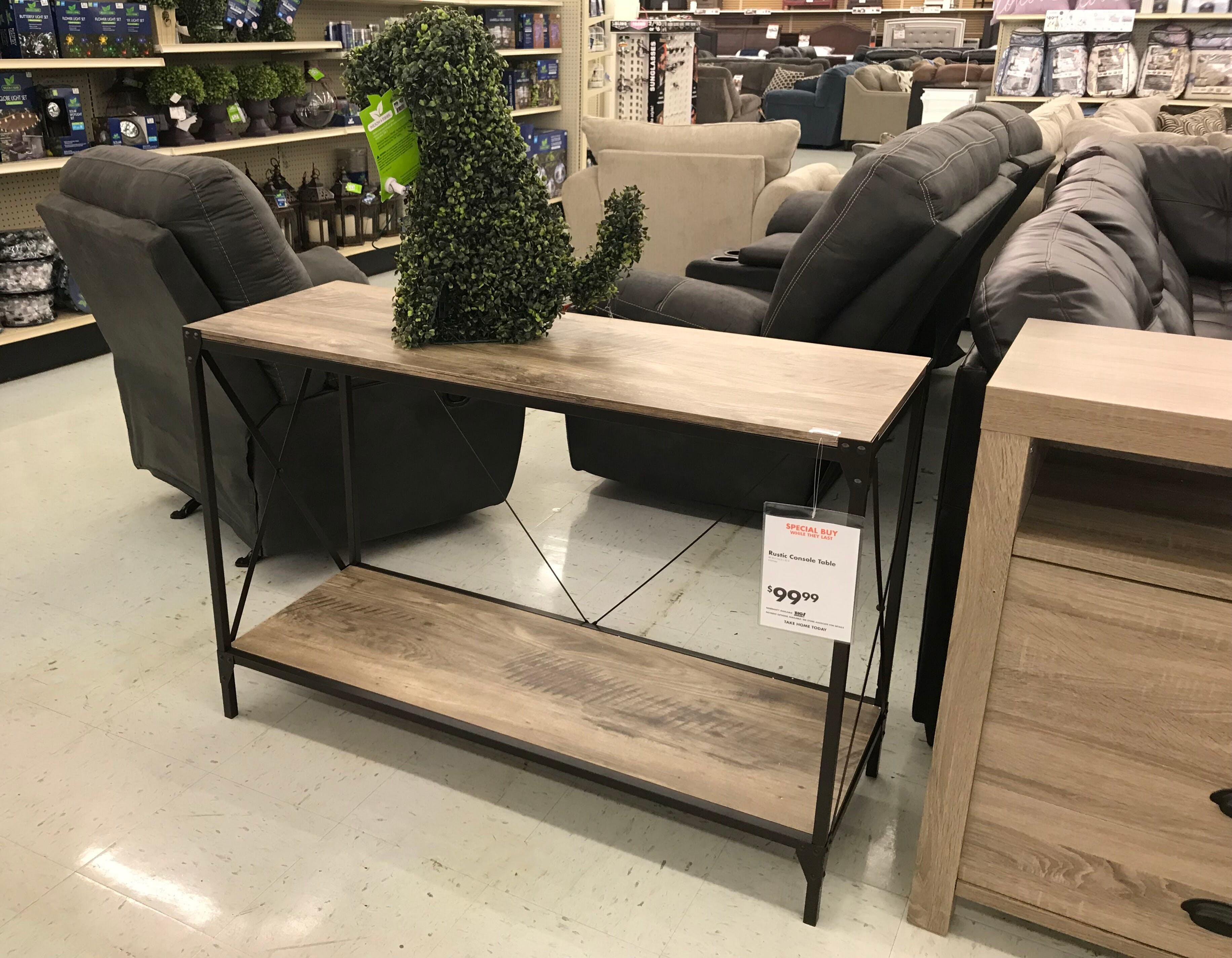 100 Off 500 At Big Lots Save On Sectionals Farmhouse Furniture The Krazy Coupon Lady