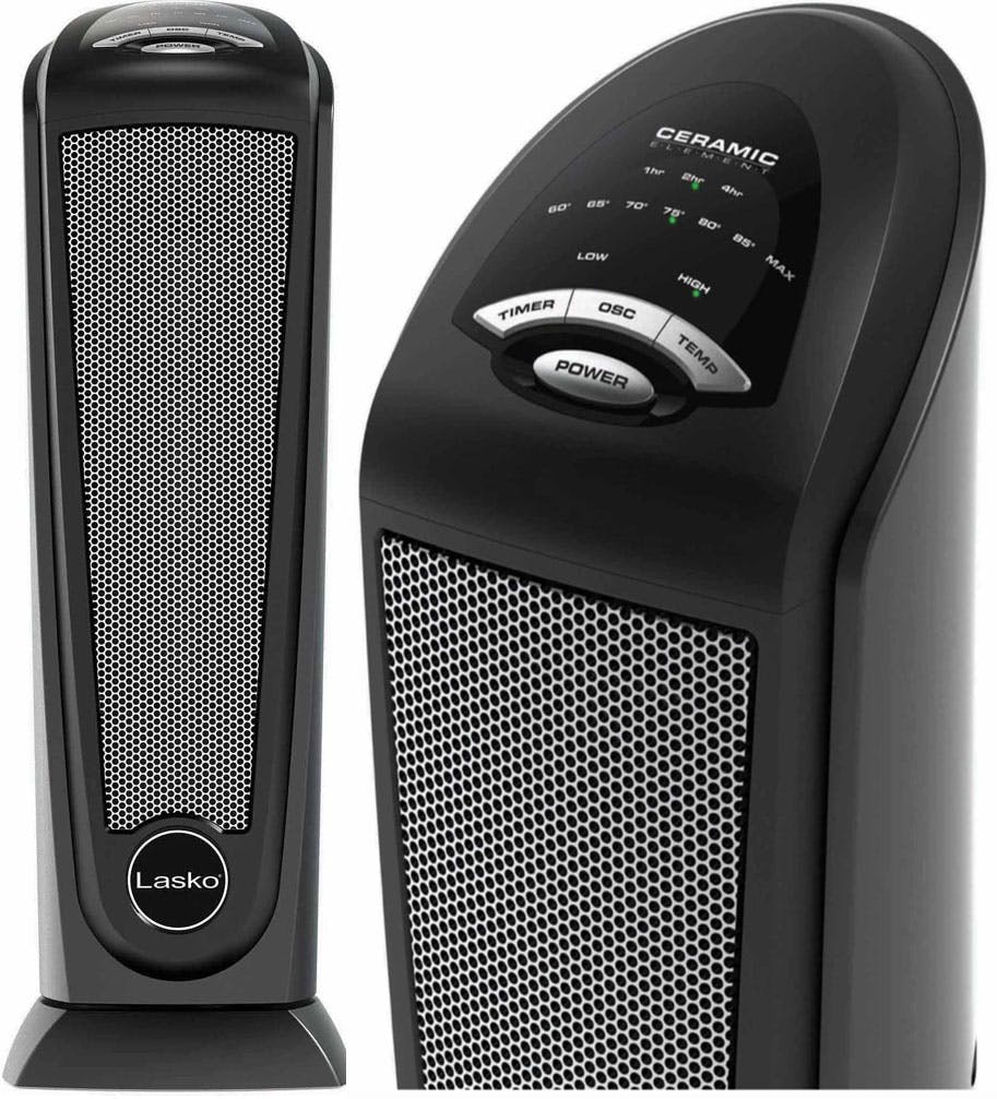 Lasko Electric Tower Space Heater 29 97 At Walmart The Krazy Coupon Lady