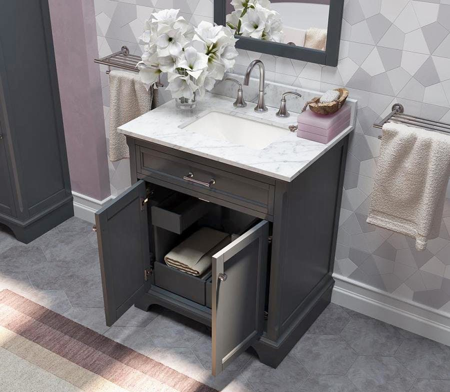 Scott Living Bathroom Vanity 149 At Lowe S Reg 424 The Krazy Coupon Lady
