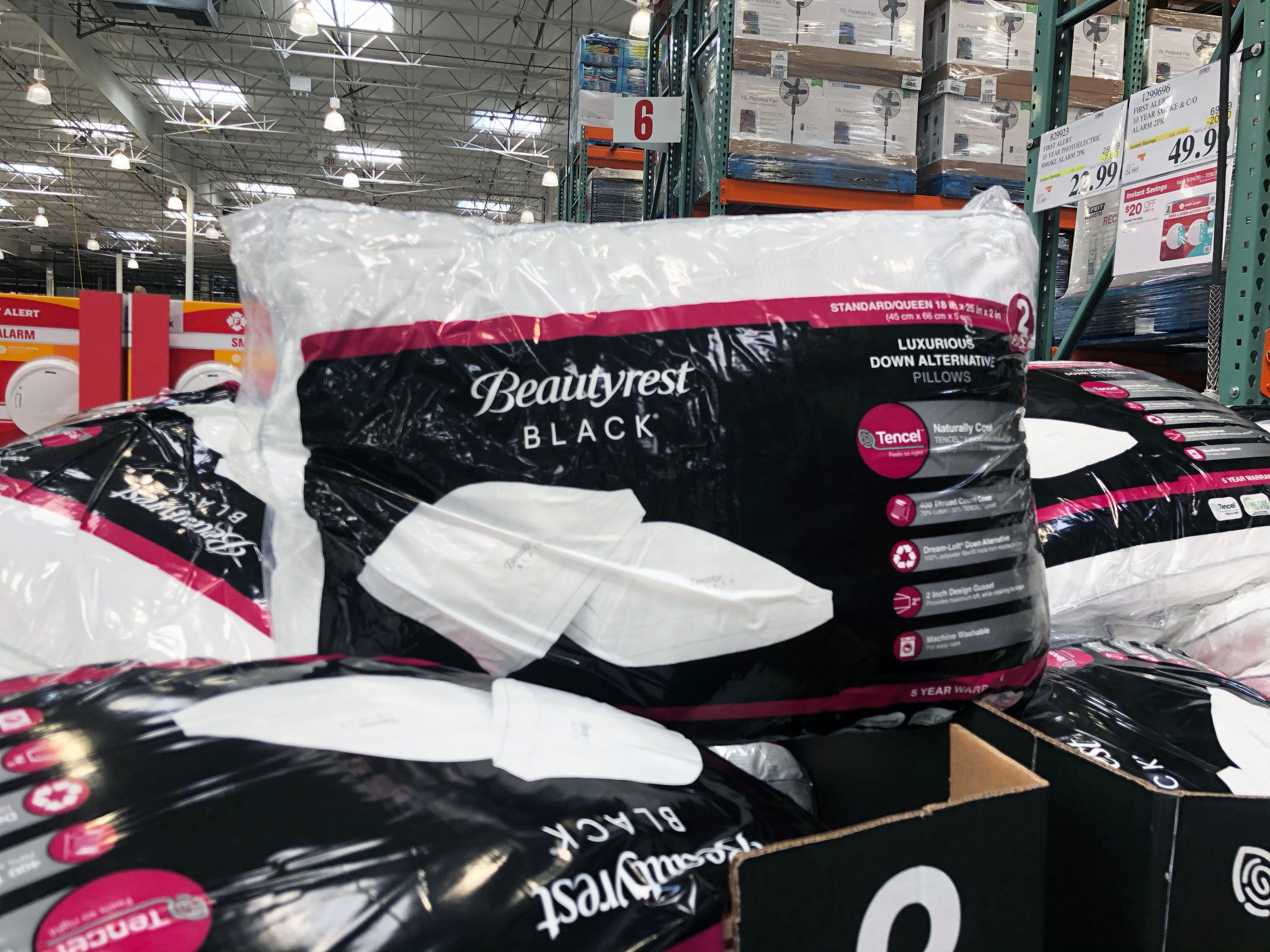 beautyrest black down alt pillow 2