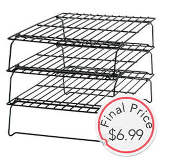 Gone: 3-Tier Cooling Rack, Only $6.99---Perfect for