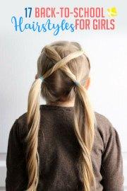 fun & easy -school hairstyles
