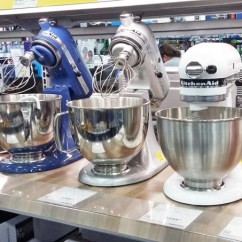Best Buy Kitchen Aid Blue Sink Kitchenaid Stand Mixer Only 199 99 Shipped At Reg 420 Get A Classic For Over 50 Off Pay Just Today Stainless Steel Bowl Flat Beater Dough Hook And Whisk Attachments