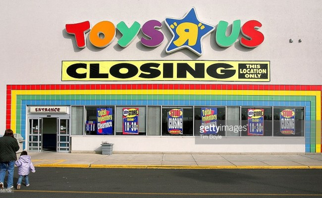 Toys R Us Is Closing 182 Stores Due To Bankruptcy