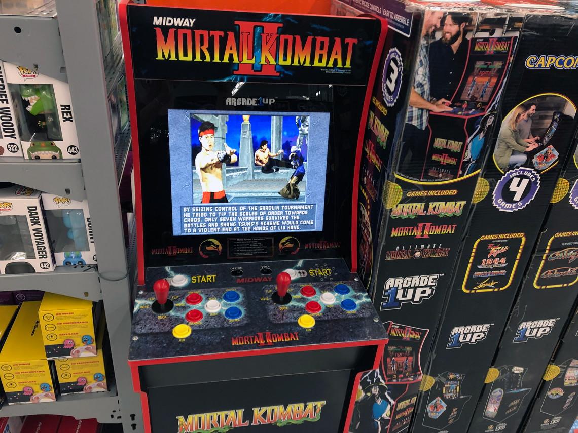 arcade1up arcade machines as