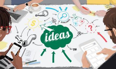idea development create and