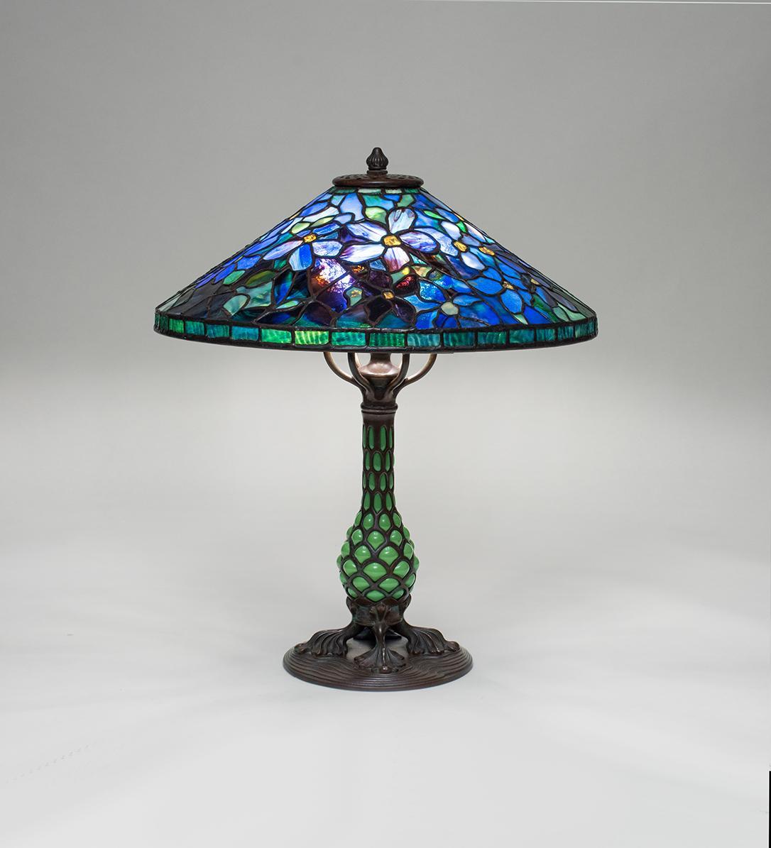 Tiffany Studios Clematis Table Lamp Tiffany Studios Lamps Catalogue Lillian Nassau Llc