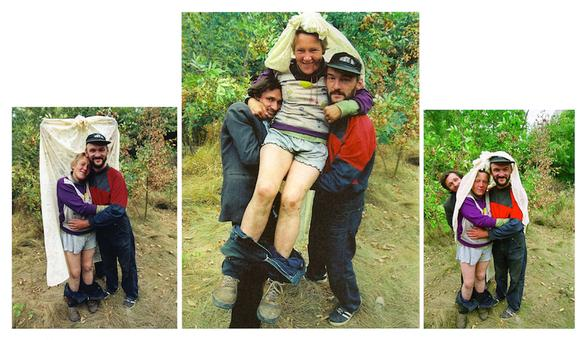 Untitled, 2005 – 2006, The Weddding © Boris Mikhailov courtesy Sprovieri Gallery