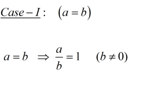 Answered: If a? = b² then the value of ()°