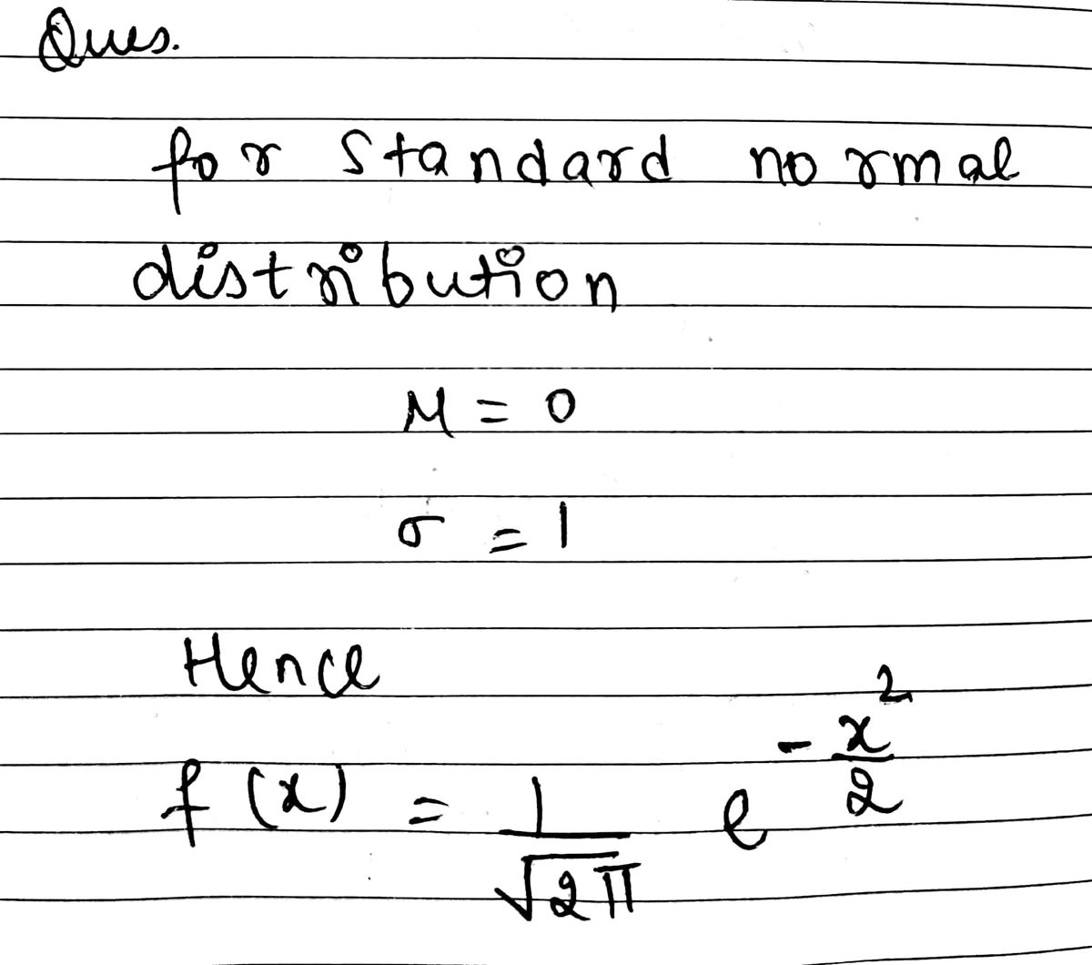 Answered Using The Standard Normal Distribution