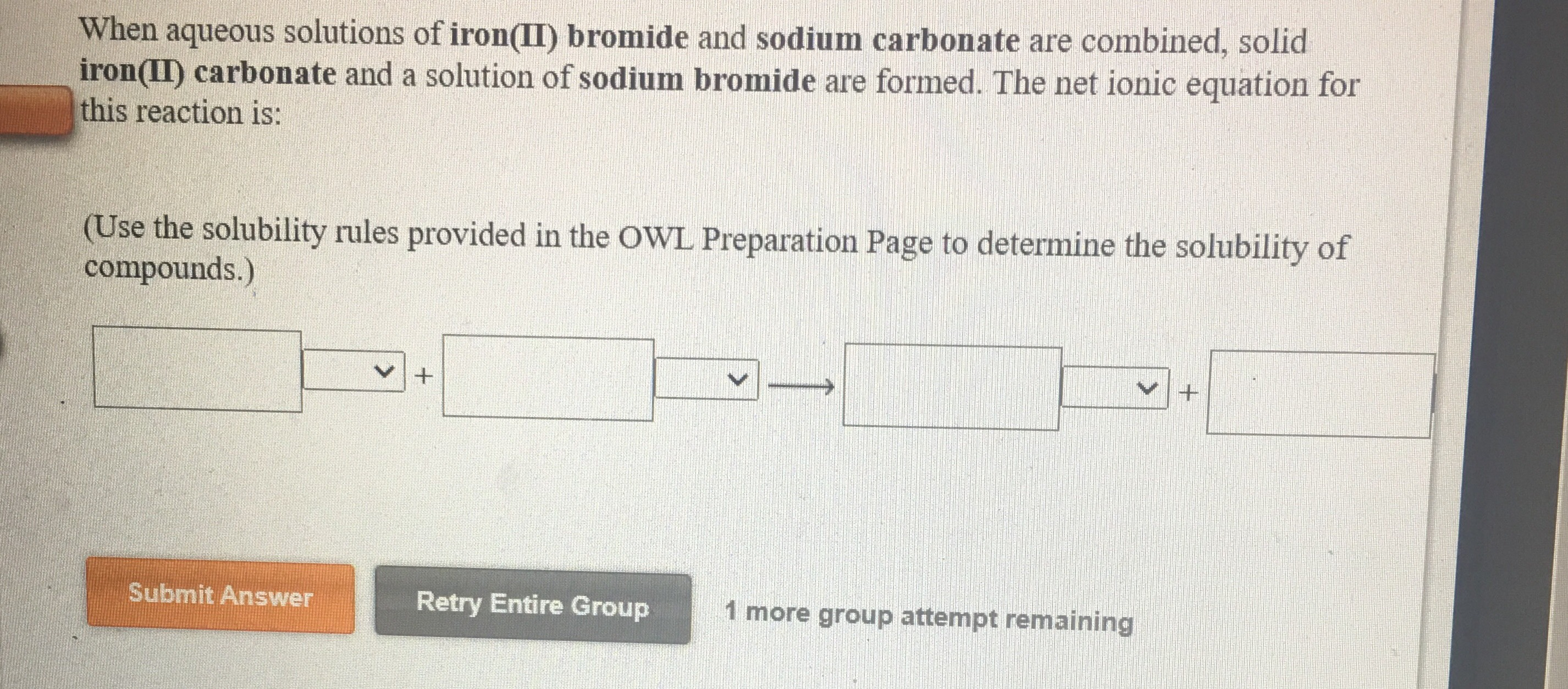 Answered When Aqueous Solutions Of Iron Ii