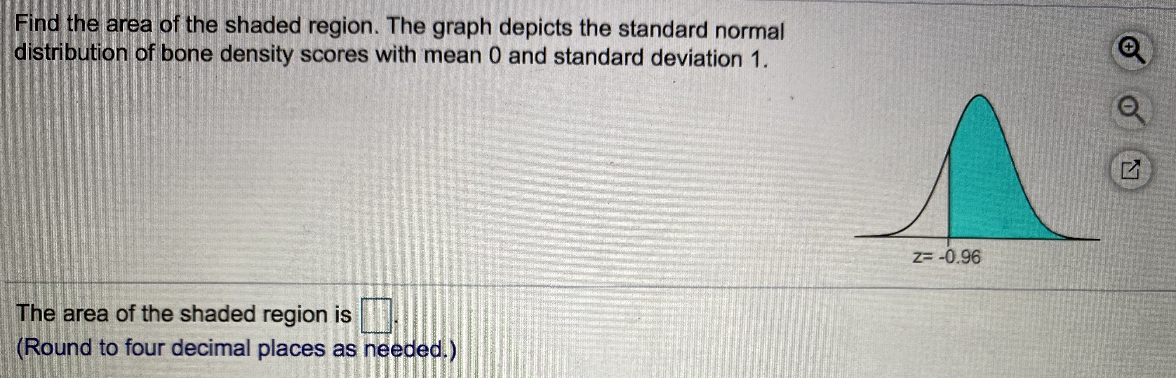 Answered Find The Area Of The Shaded Region The