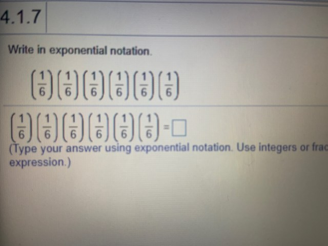 Answered: Write in exponential notation. 2226. 226. 226.  bartleby